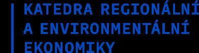 Katedra regionální a environmentální ekonomiky