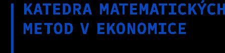 Katedra matematických metod v ekonomice